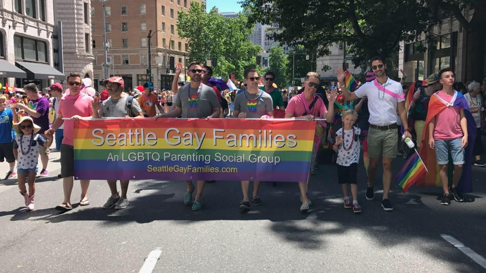 Seattle Gay Families - an LGBTQ parenting group