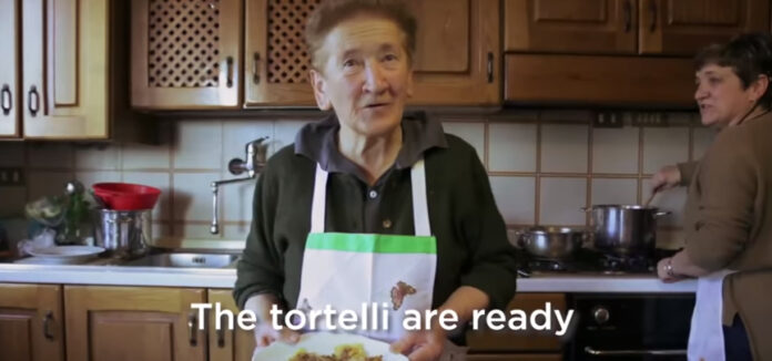 Pasta Grannies discover potato filled ravioli called Tortelli Di Mugello